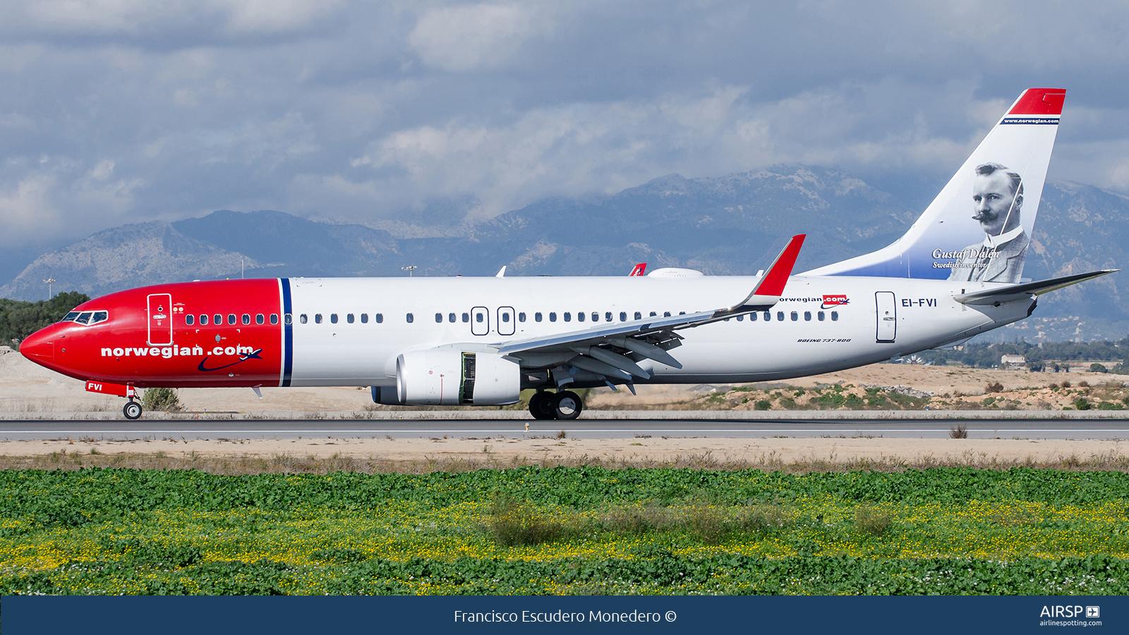 Norwegian  Boeing 737-800  EI-FVI