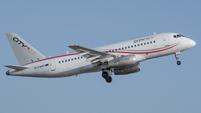 Cityjet Sukhoi SSJ 100-95