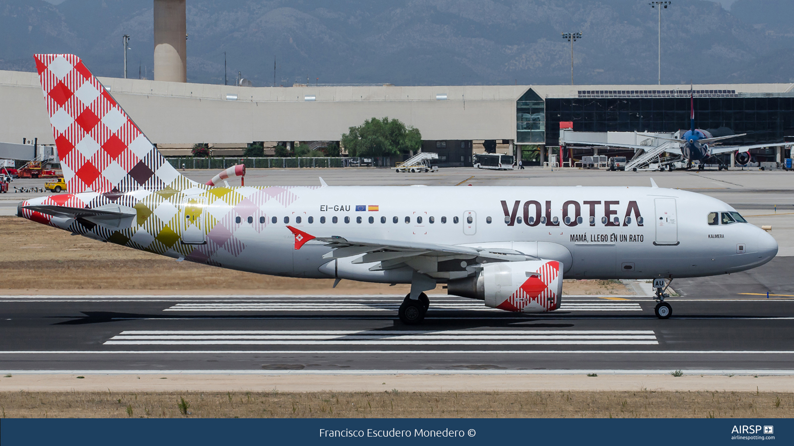Volotea Airlines  Airbus A319  EI-GAU