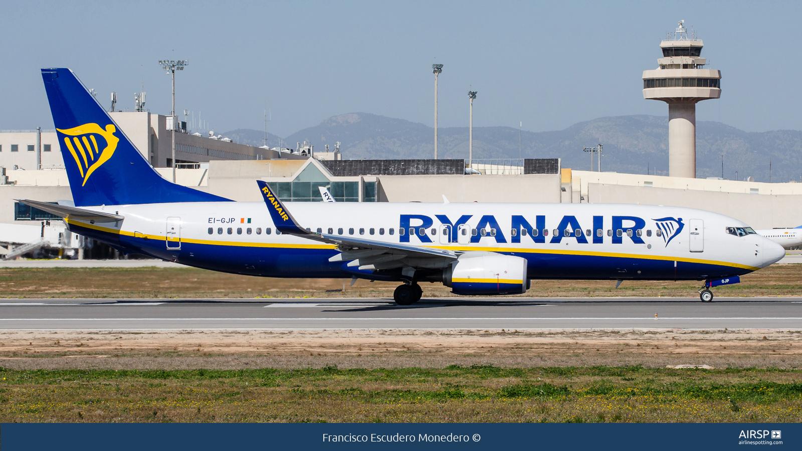 RyanairBoeing 737-800EI-GJP