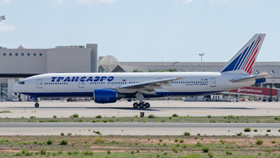 Transaero Airlines Boeing 777-200