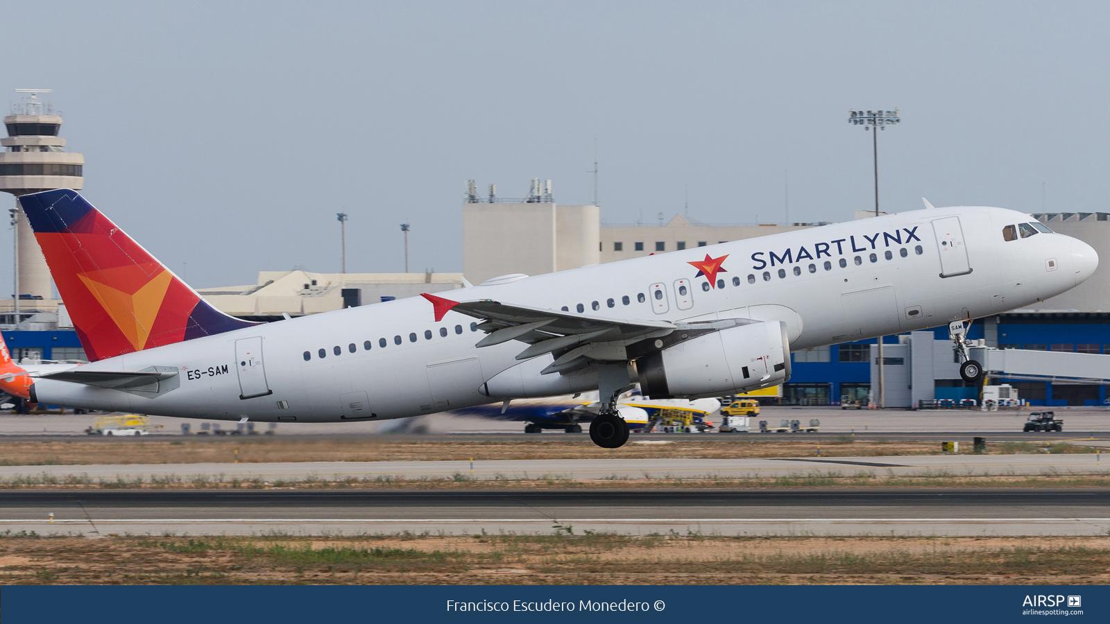 Smartlynx  Airbus A320  ES-SAM