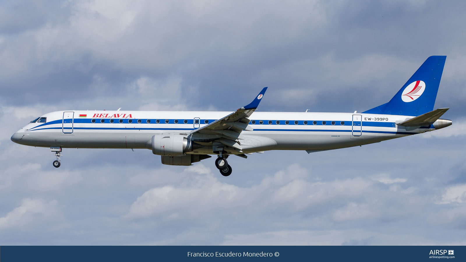 Belavia  Embraer ERJ-195  EW-399PO