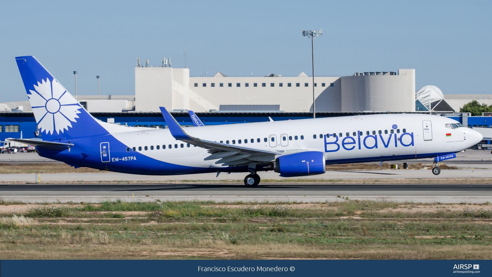 Belavia  Boeing 737-800  EW-457PA