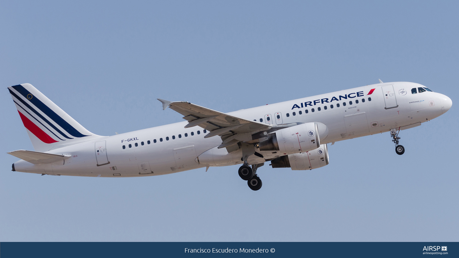 Air France  Airbus A320  F-GKXL