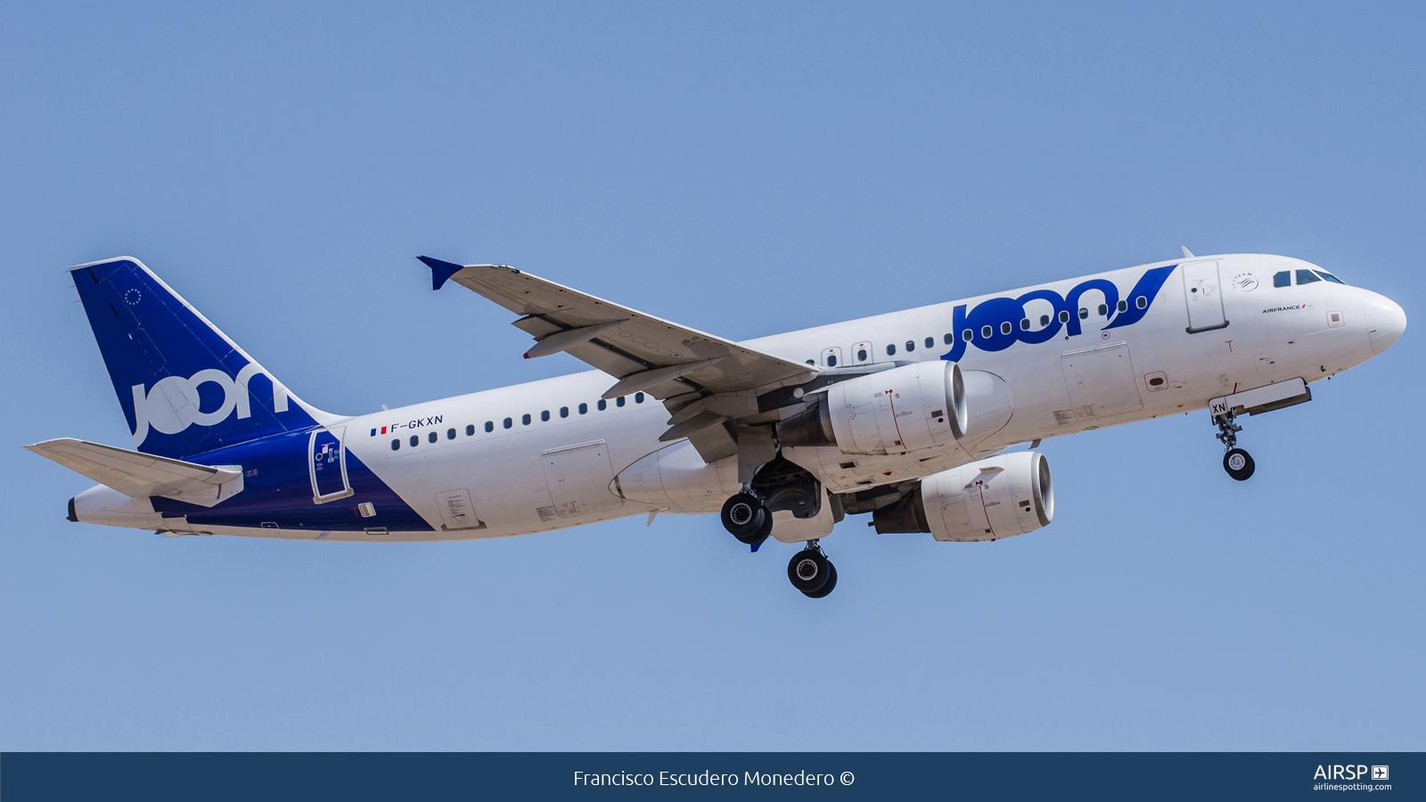 Joon  Airbus A320  F-GKXN