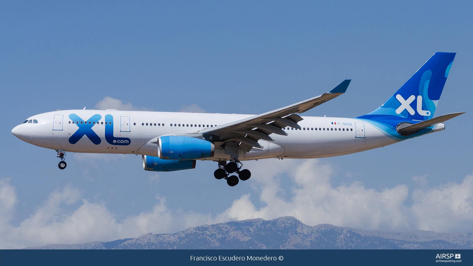 XL Airways  Airbus A330-200  F-GRSQ