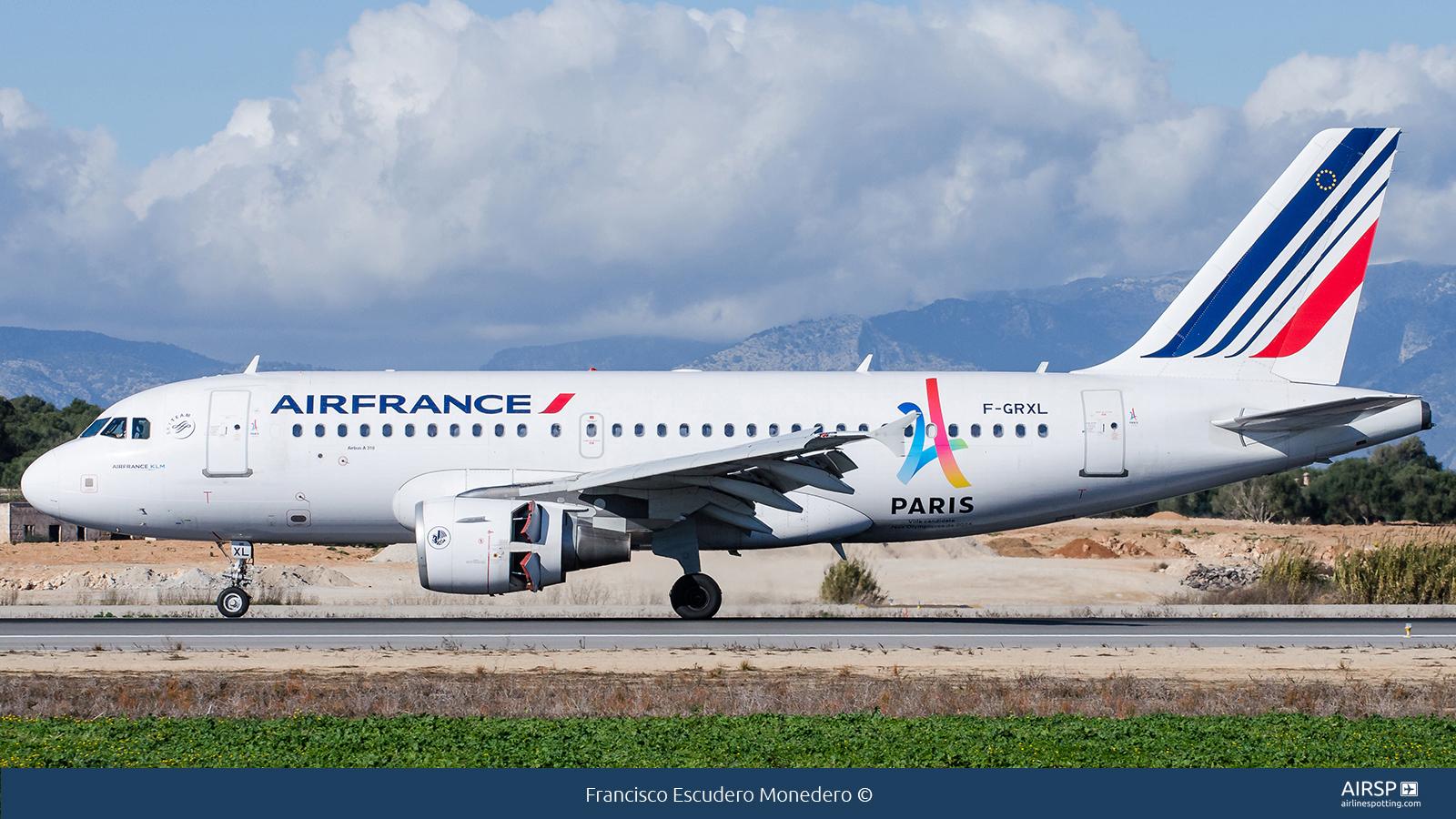 Air FranceAirbus A319F-GRXL