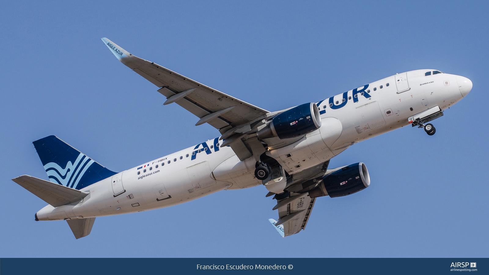 Aigle Azur  Airbus A320  F-HBIX