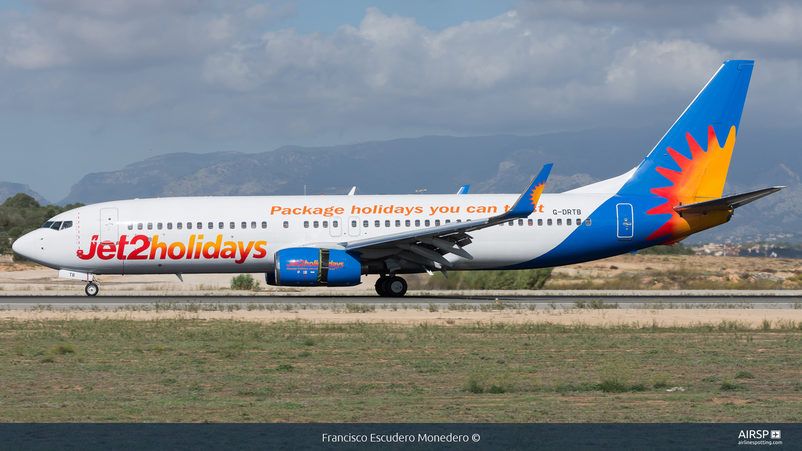 Jet2  Boeing 737-800  G-DRTB