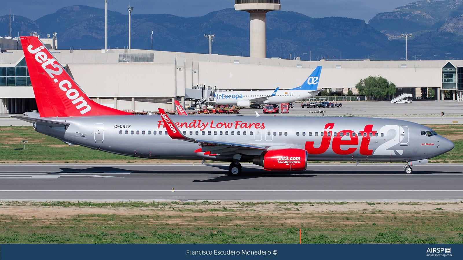 Jet2  Boeing 737-800  G-DRTF