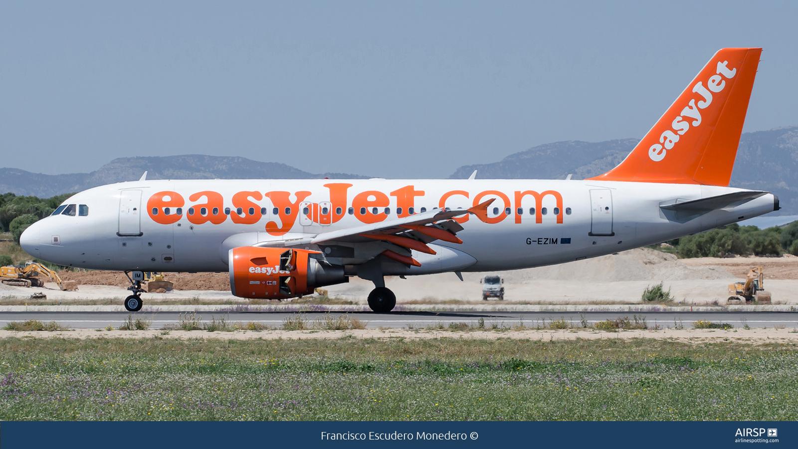 Easyjet  Airbus A319  G-EZIM