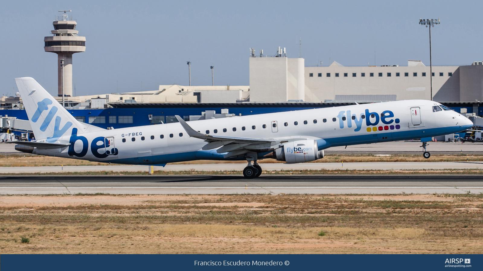 Flybe  Embraer ERJ-195  G-FBEG
