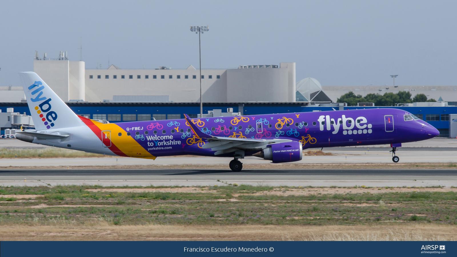 Flybe  Embraer E195  G-FBEJ