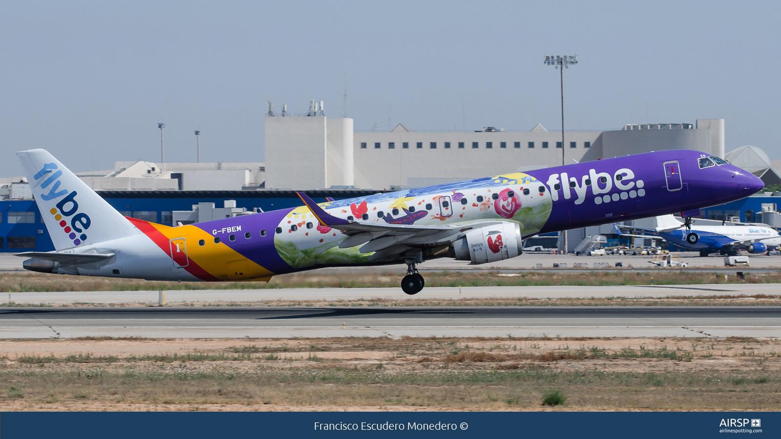 Flybe  Embraer E195  G-FBEM