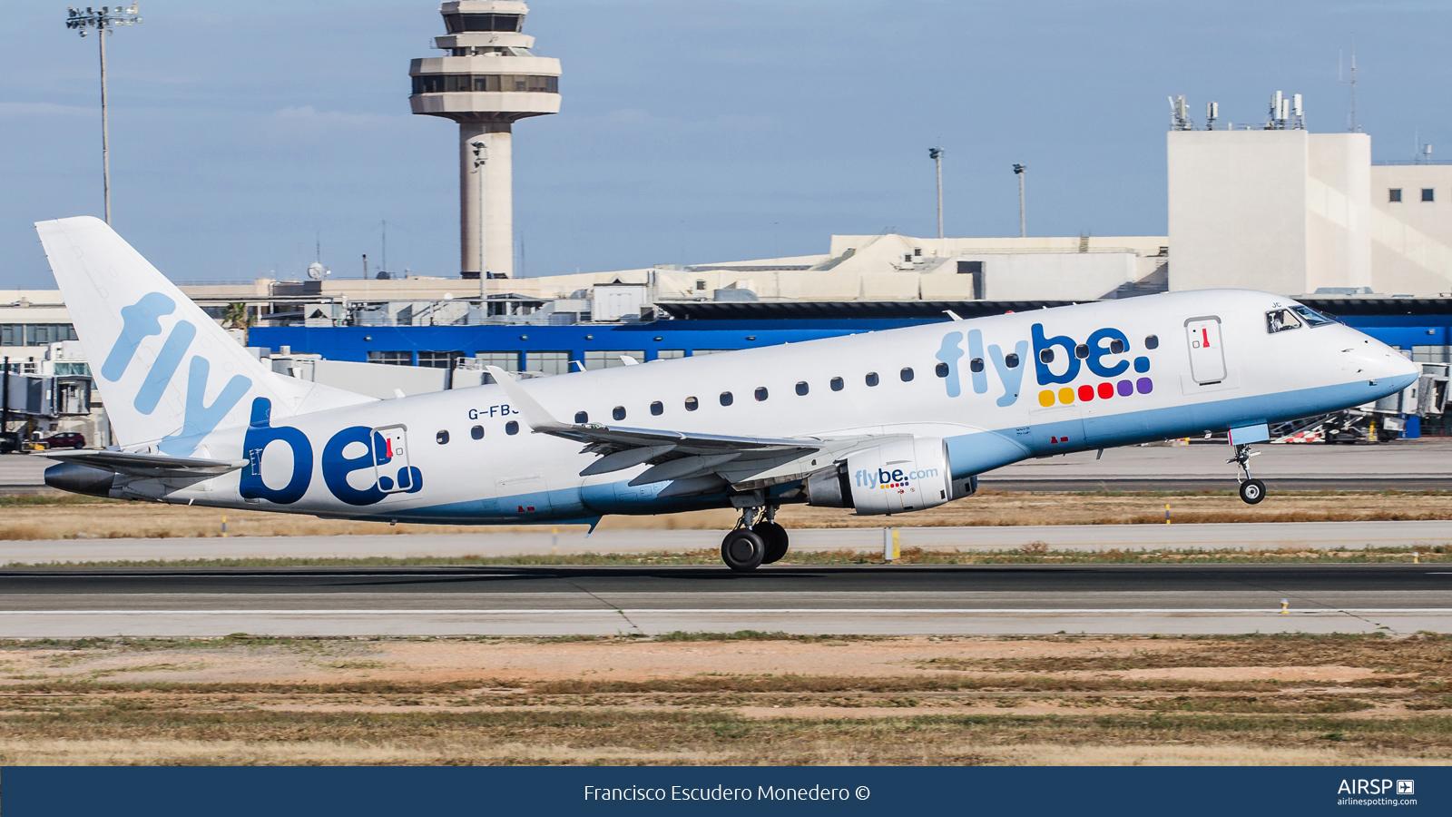Flybe  Embraer E175  G-FBJC