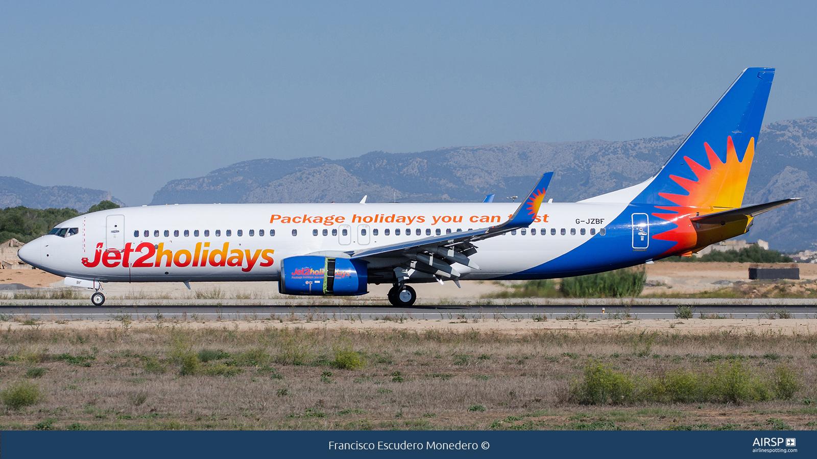 Jet2  Boeing 737-800  G-JZBF