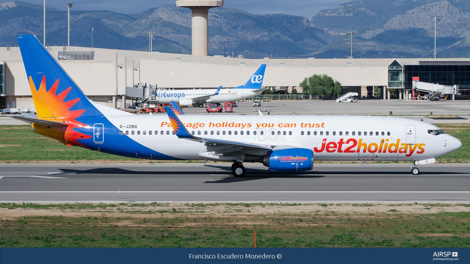 Jet2  Boeing 737-800  G-JZBG