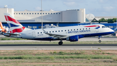 British Airways Cityflyer Embraer ERJ-170