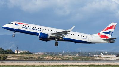 British Airways Cityflyer Embraer E190