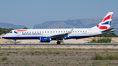 British Airways Cityflyer Embraer ERJ-190