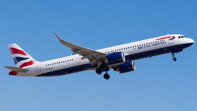 British Airways Airbus A321neo