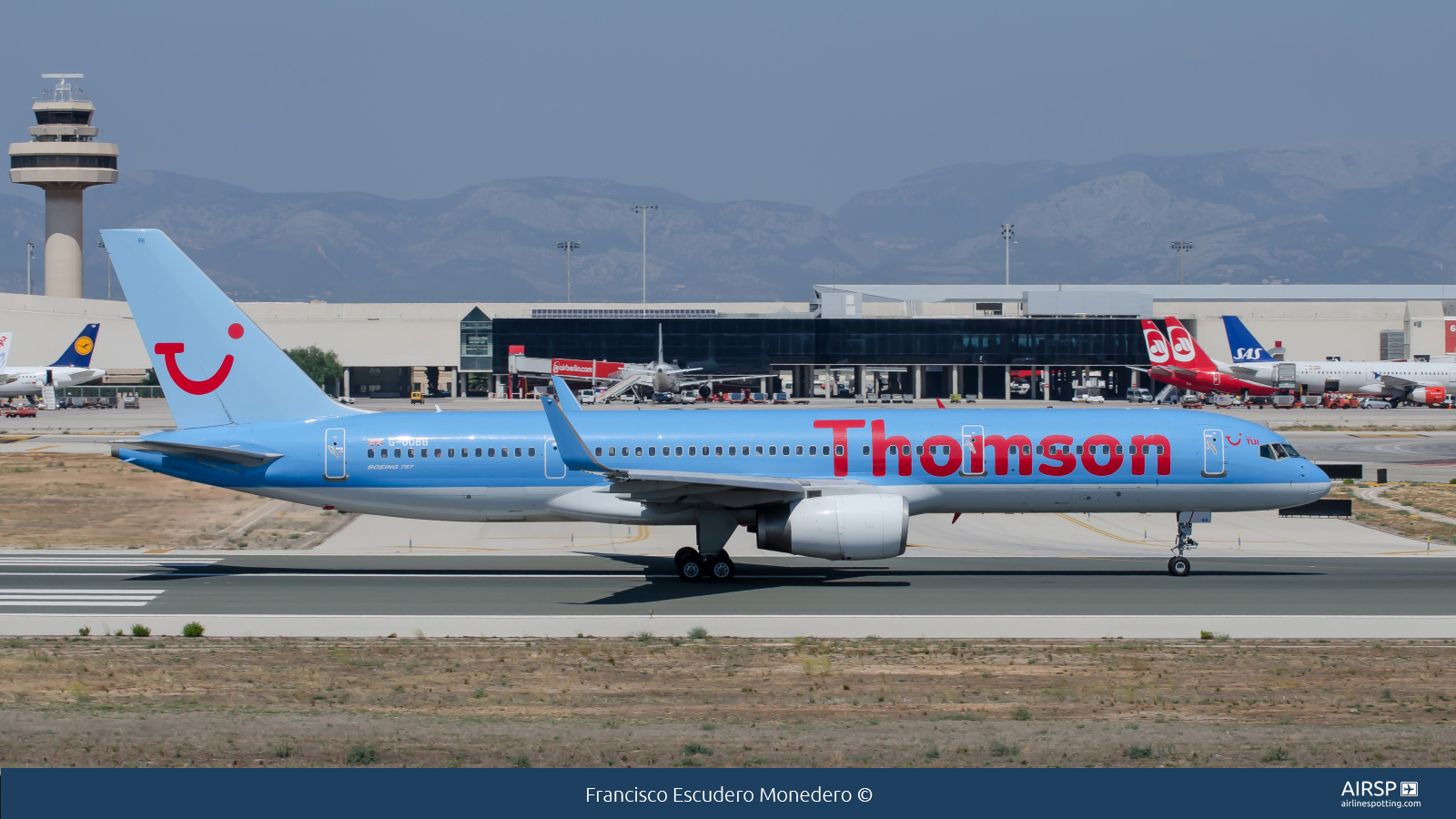 Thomson Airways  Boeing 757-200  G-OOBB