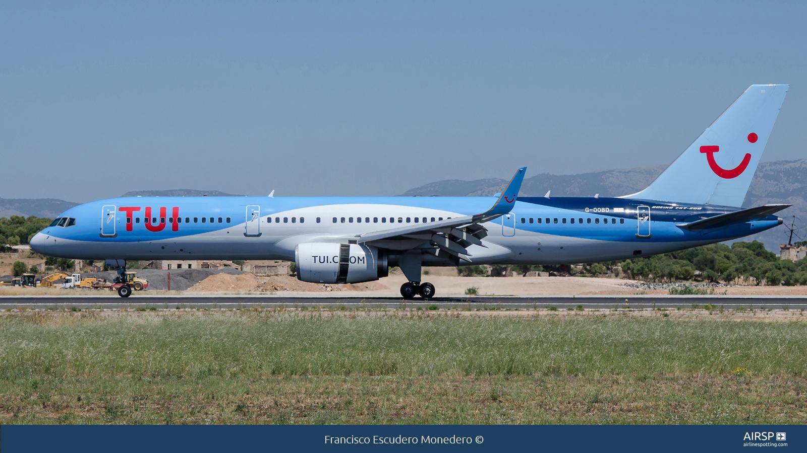 Tui AirwaysBoeing 757-200G-OOBD