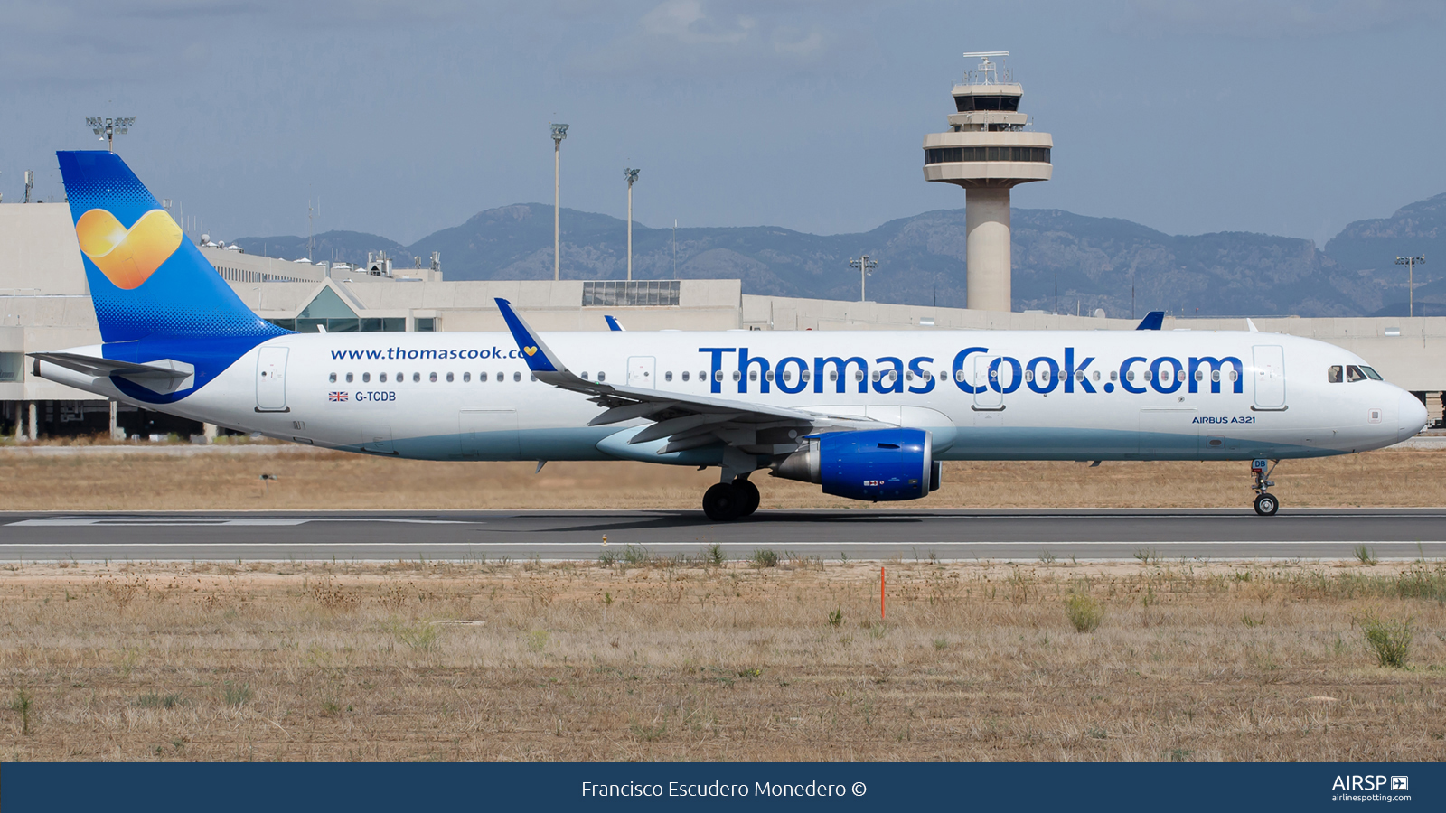 Thomas Cook Airlines  Airbus A321  G-TCDB