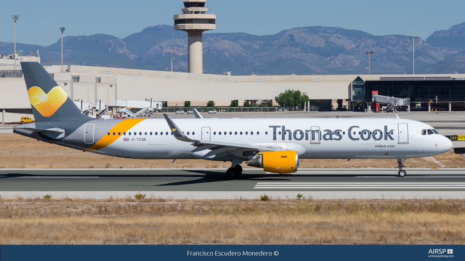 Thomas Cook Airlines  Airbus A321  G-TCDK