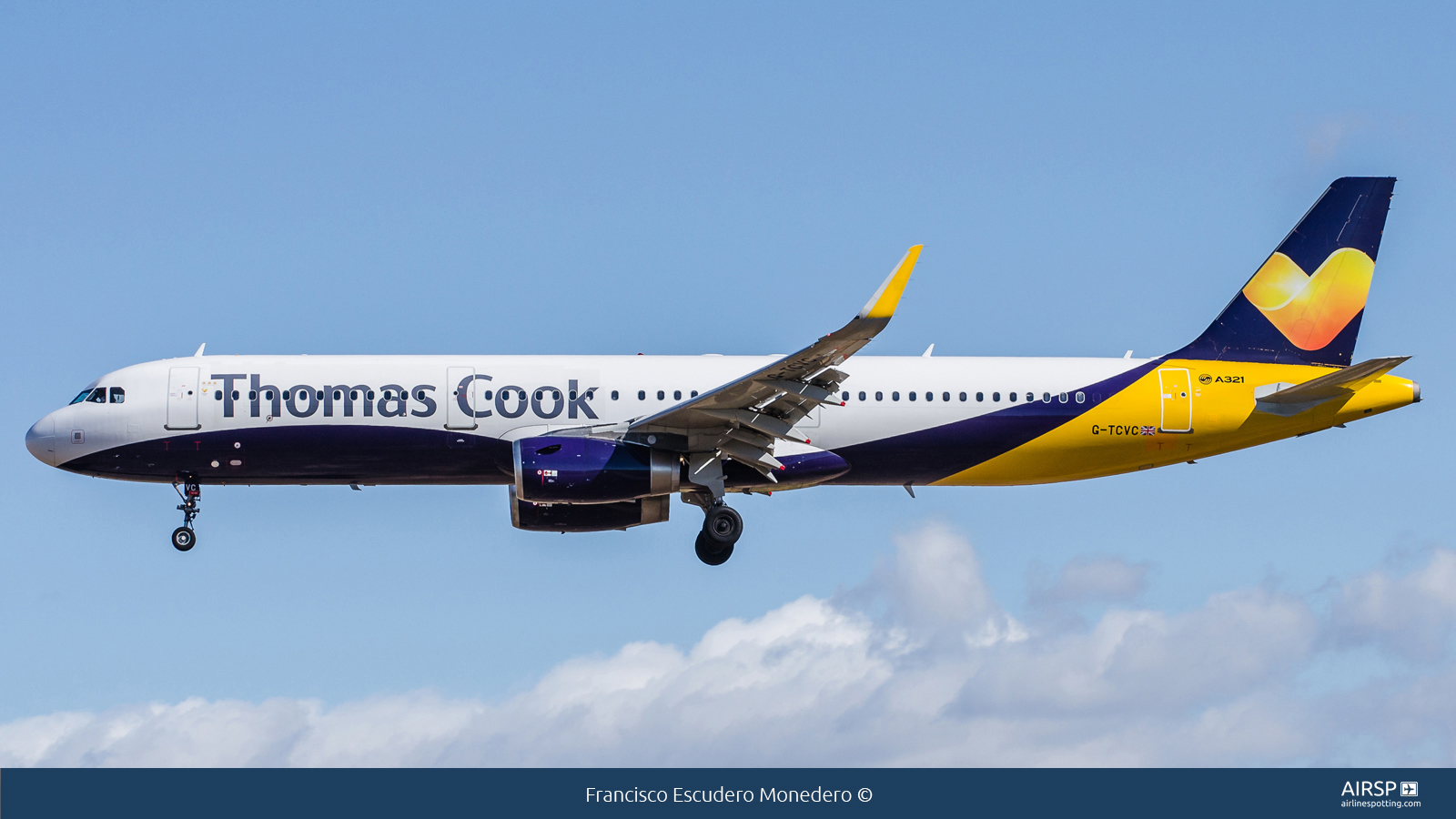 Thomas Cook Airlines  Airbus A321  G-TCVC
