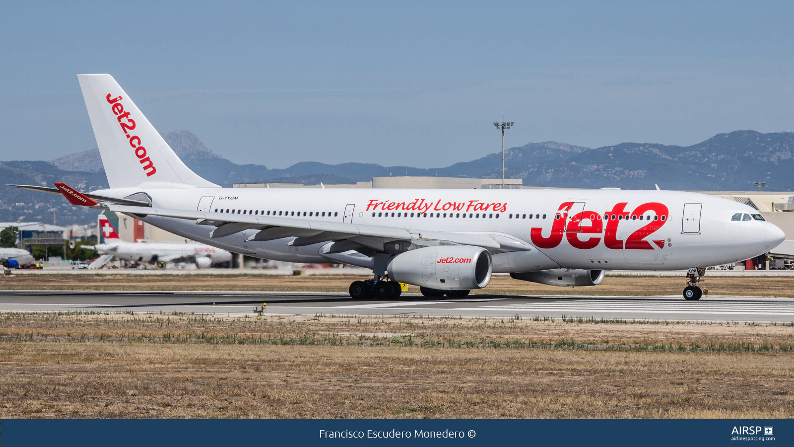 Jet2  Airbus A330-200  G-VYGM