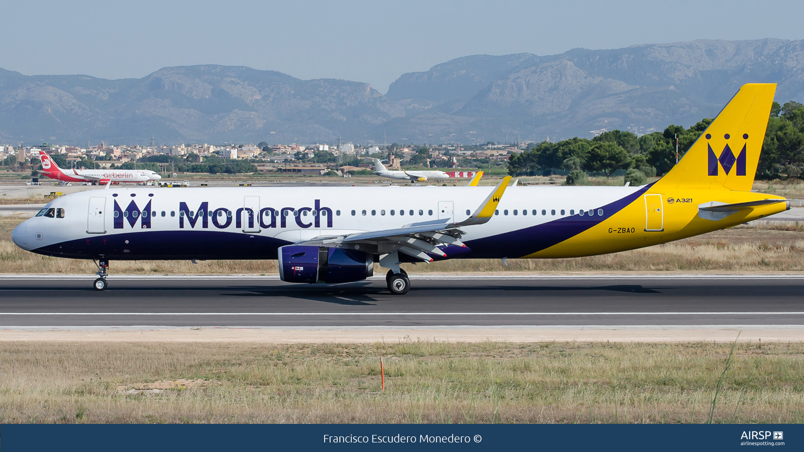 Monarch Airlines  Airbus A321  G-ZBAO