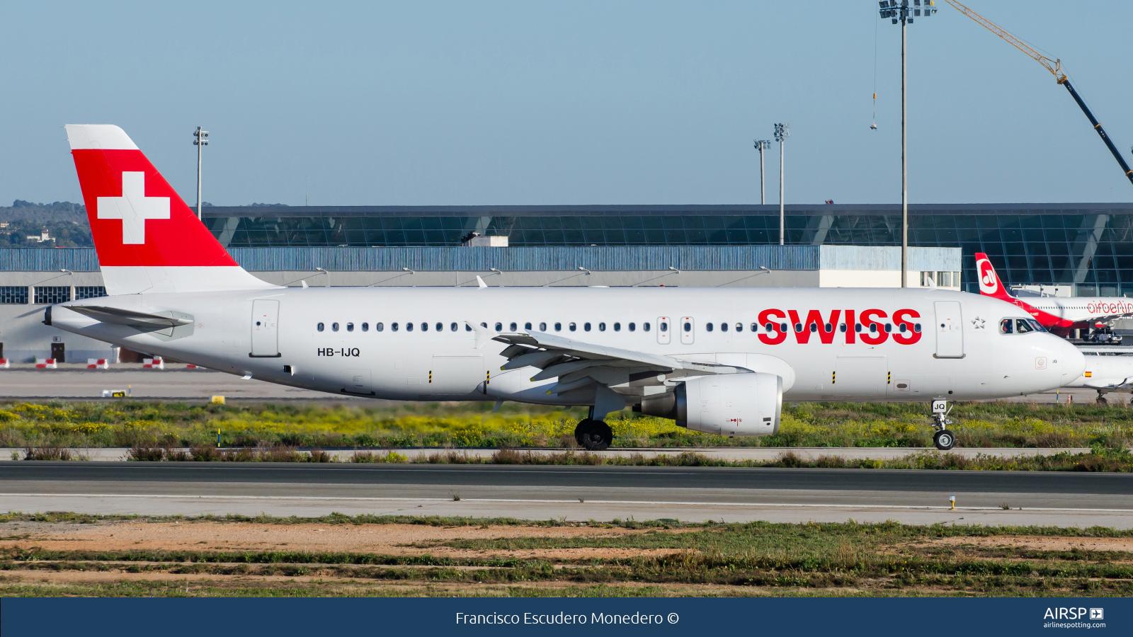 Swiss  Airbus A320  HB-IJQ