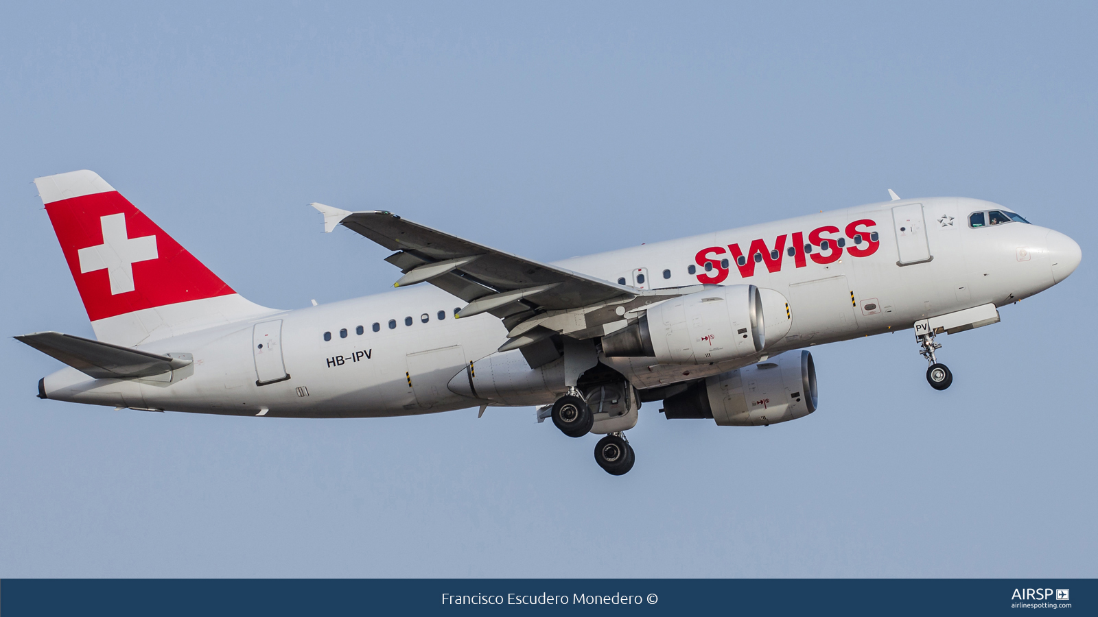 Swiss  Airbus A319  HB-IPV