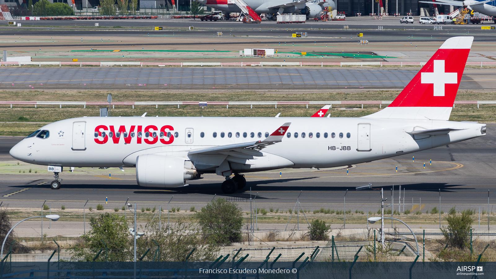 Swiss  Airbus A220-100  HB-JBB