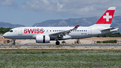 Swiss Airbus A220-100