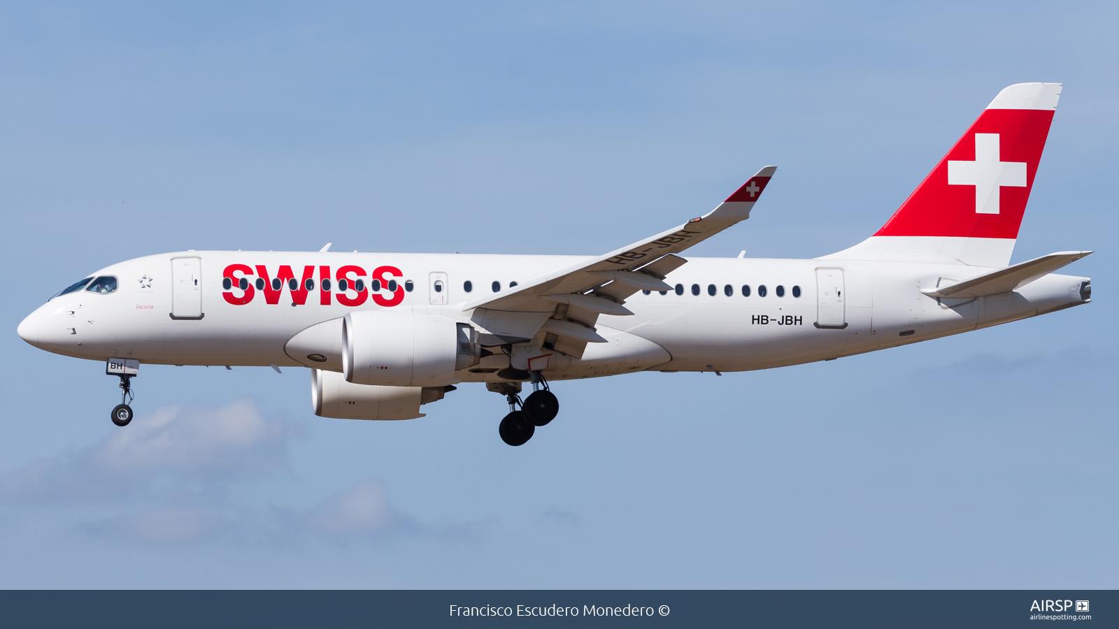 Swiss  Airbus A220-100  HB-JBH