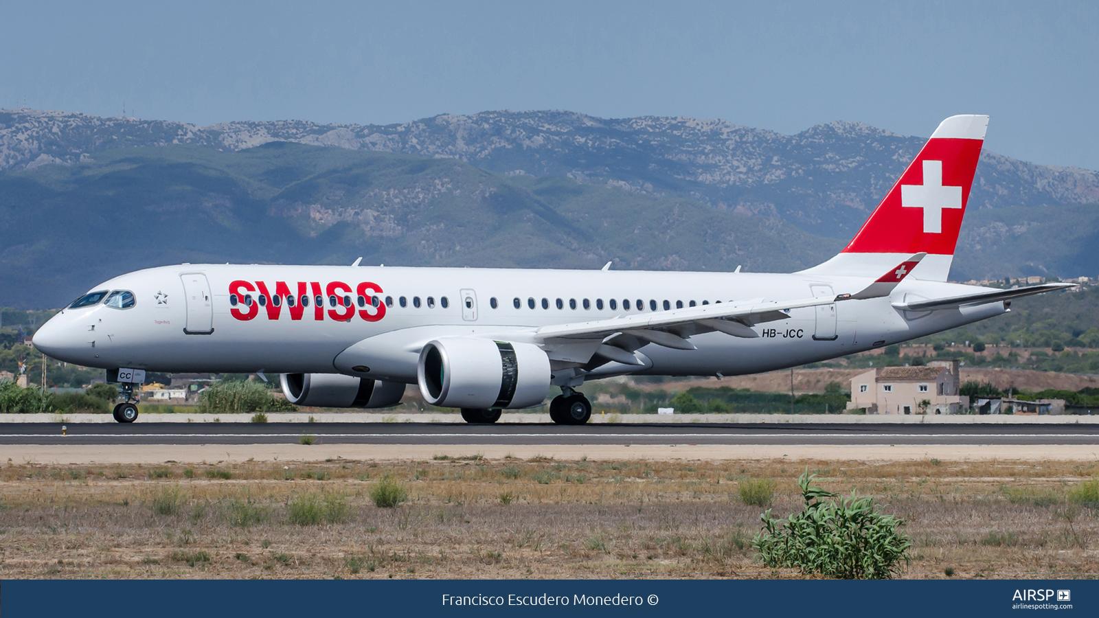Swiss  Airbus A220-300  HB-JCC