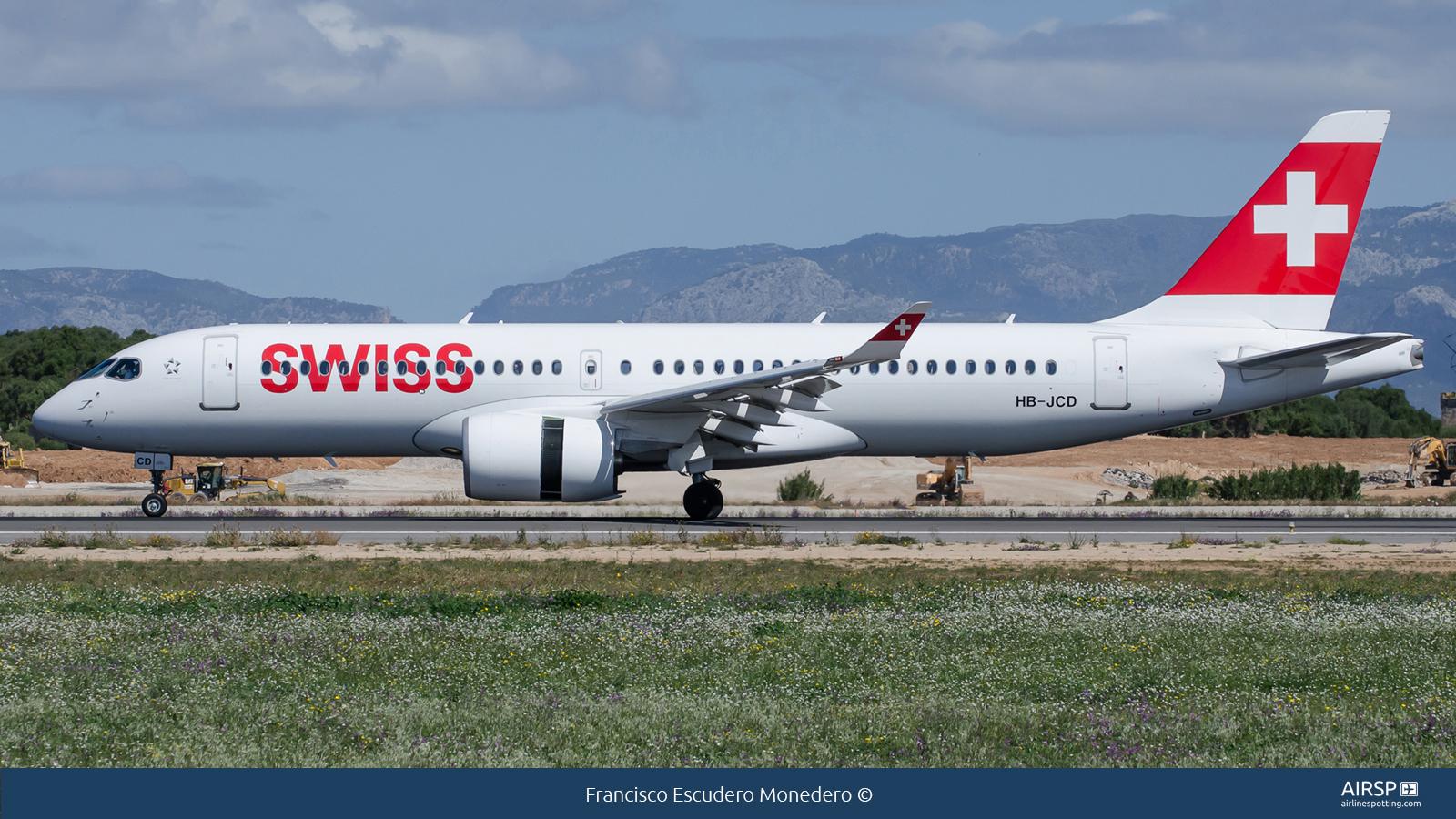 Swiss  Airbus A220-300  HB-JCD