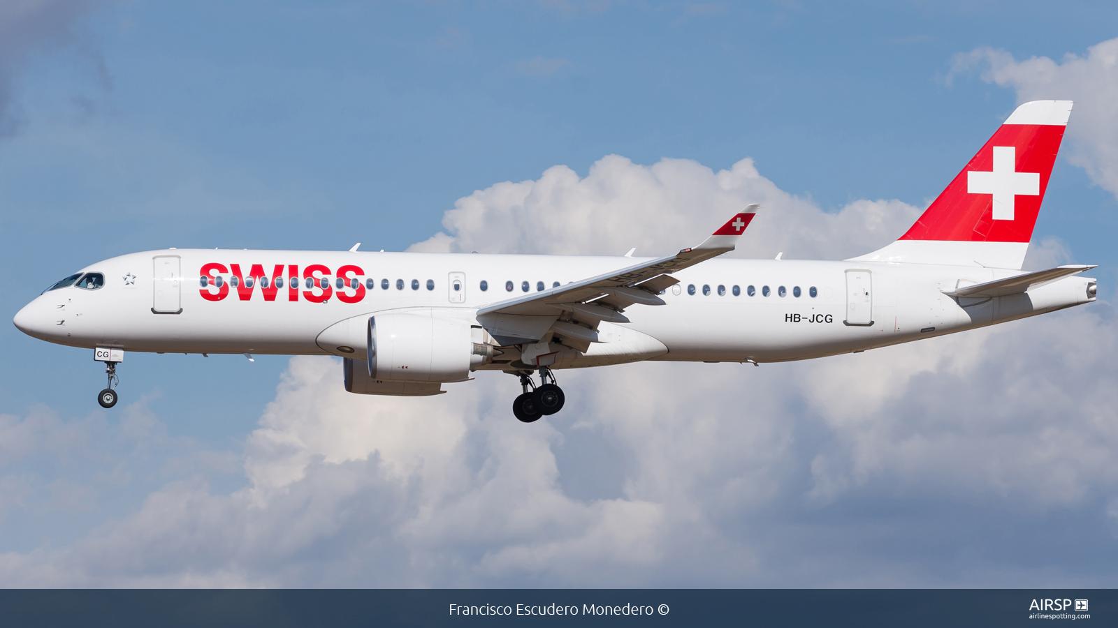 Swiss  Airbus A220-300  HB-JCG