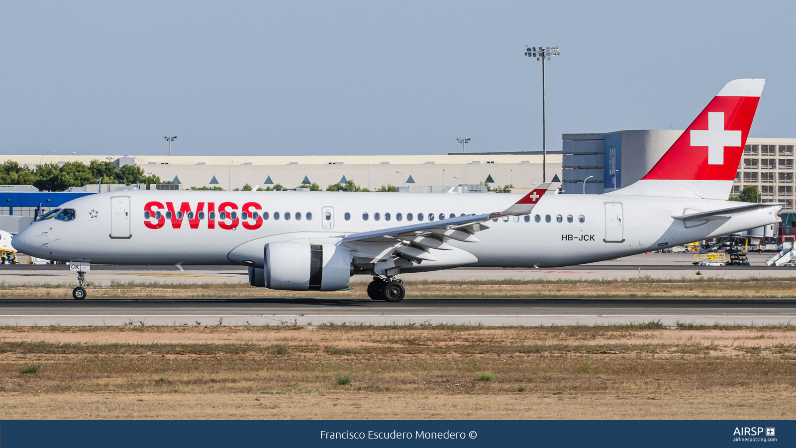Swiss  Airbus A220-300  HB-JCK