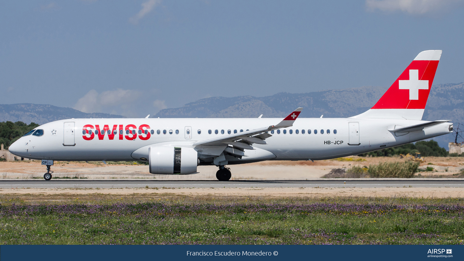 Swiss  Airbus A220-300  HB-JCP