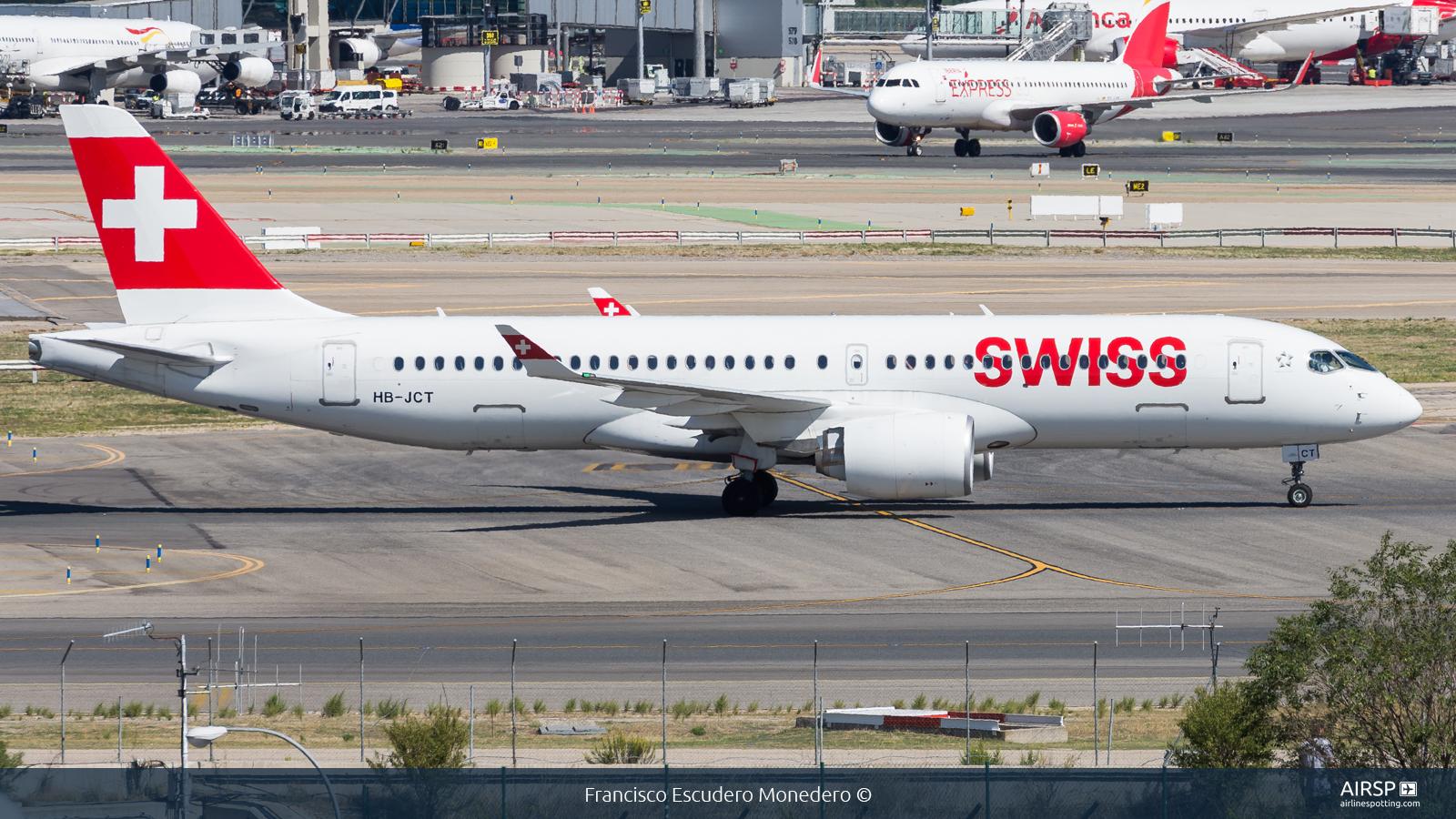 Swiss  Airbus A220-300  HB-JCT