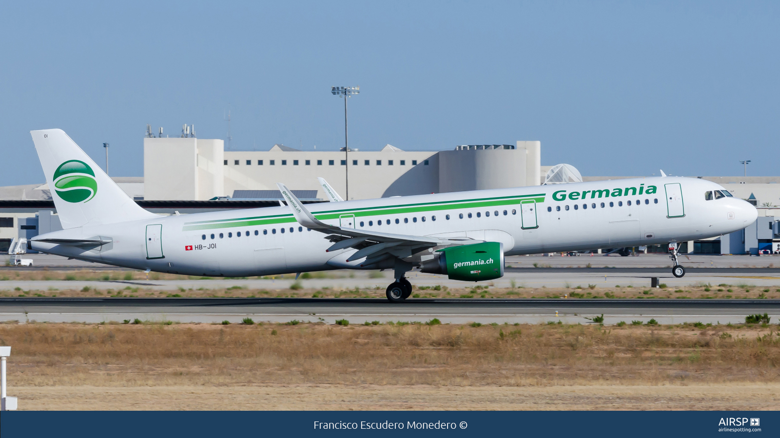Germania  Airbus A321  HB-JOI