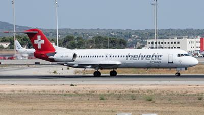 Helvetic Airways Fokker F-100