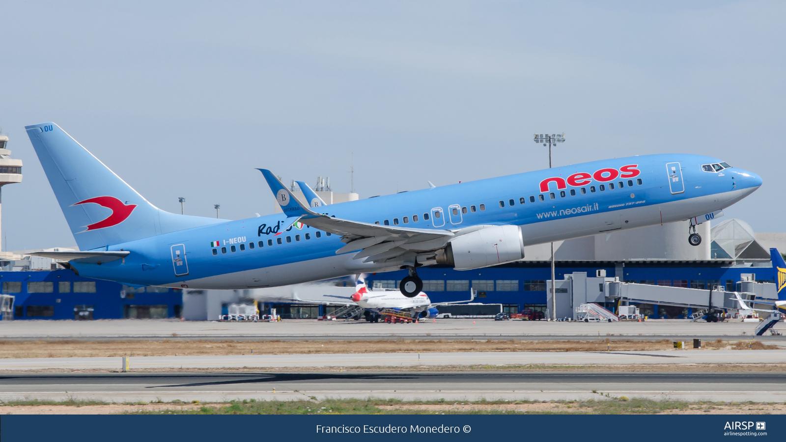 Neos  Boeing 737-800  I-NEOU