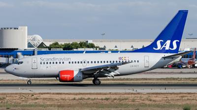 SAS Scandinavian Airlines Boeing 737-600