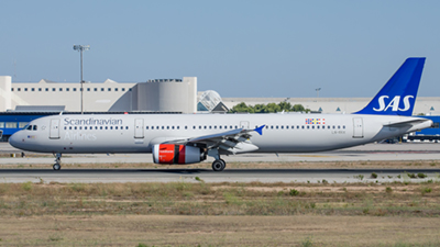 SAS Scandinavian Airlines Airbus A321
