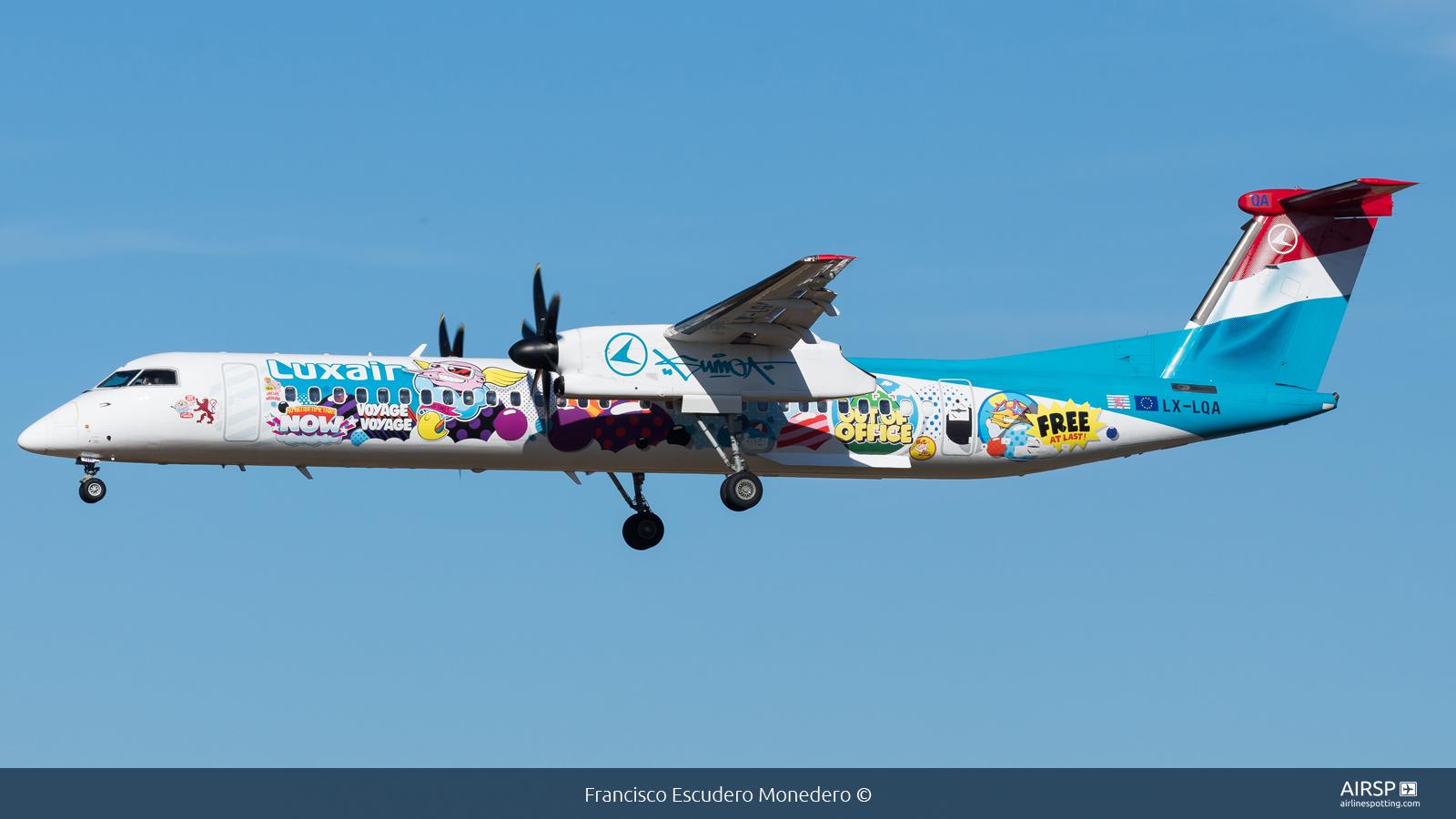 Luxair  DHC Dash 8-400  LX-LQA